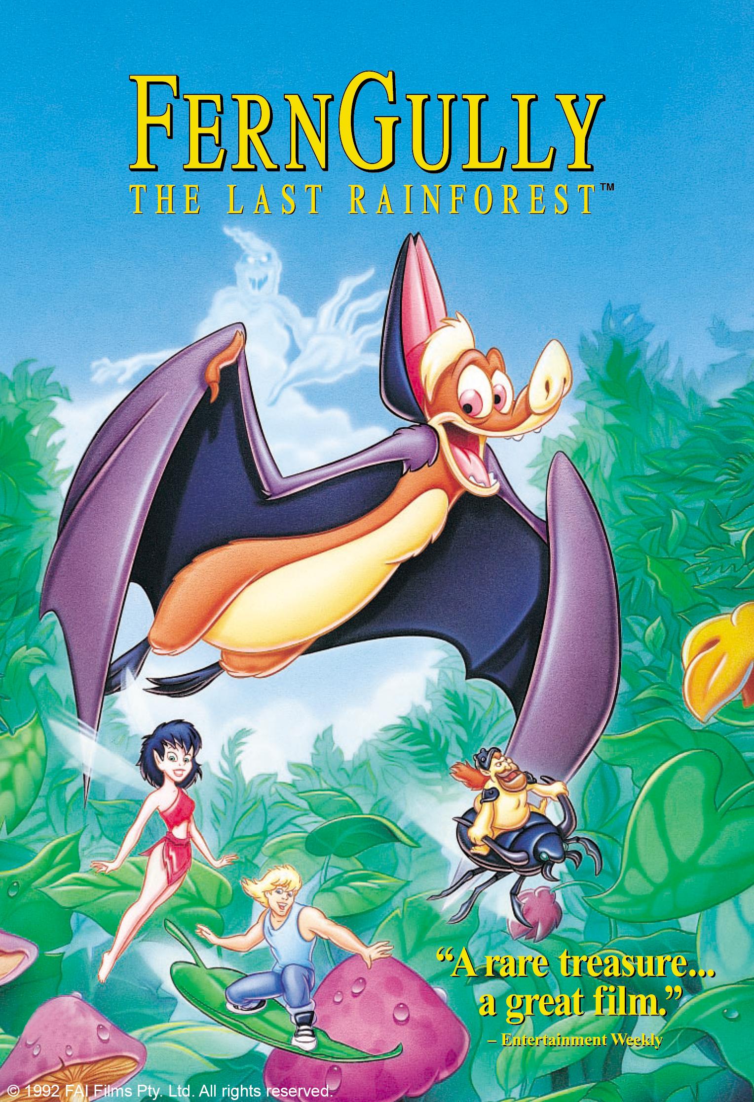 FernGully: The Last Rainforest (1992) Poster #2