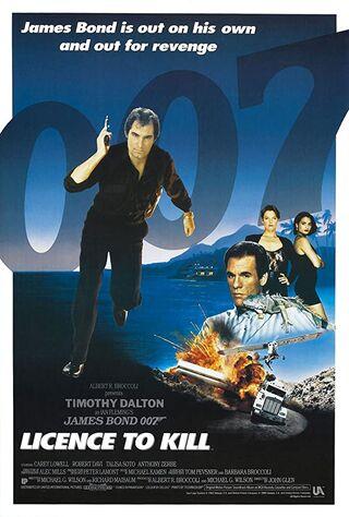 Licence To Kill (1989) Main Poster