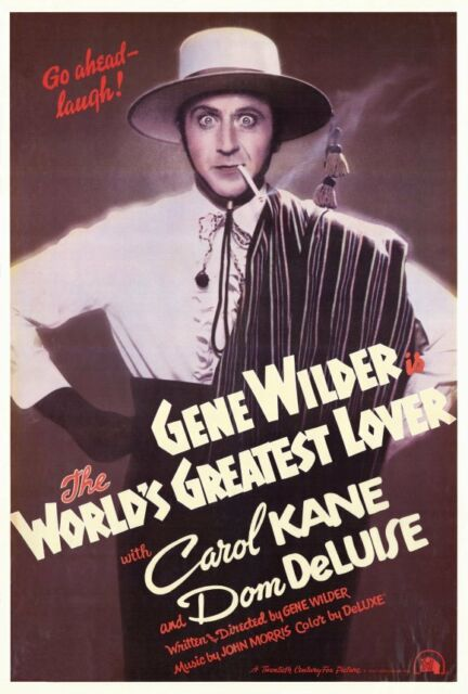 The World's Greatest Lover (1978) Main Poster