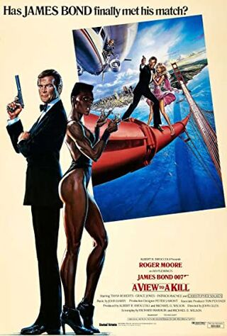 A View To A Kill (1985) Main Poster