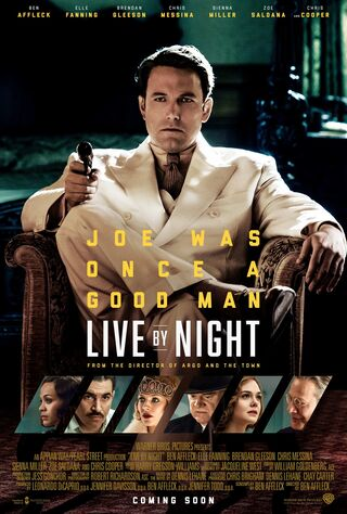 Live By Night (2017) Main Poster