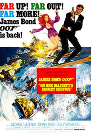 On Her Majesty's Secret Service (1969) Main Poster