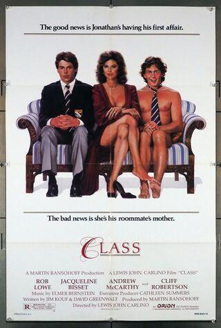 Class (1983) Main Poster