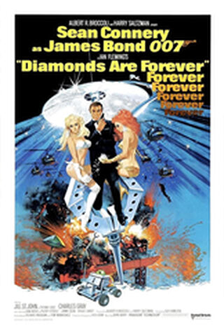 Diamonds Are Forever (1971) Main Poster