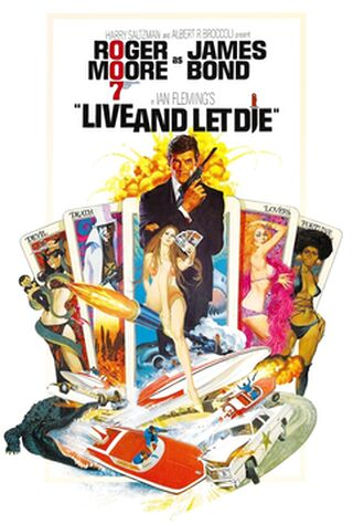 Live And Let Die (1973) Main Poster