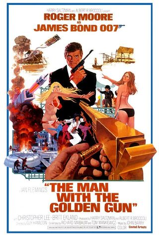 The Man With The Golden Gun (1974) Main Poster