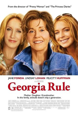 Georgia Rule (2007) Main Poster