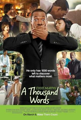 A Thousand Words (2012) Main Poster