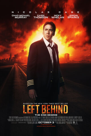 Left Behind (2014) Main Poster