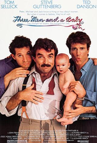 Three Men And A Baby (1987) Main Poster