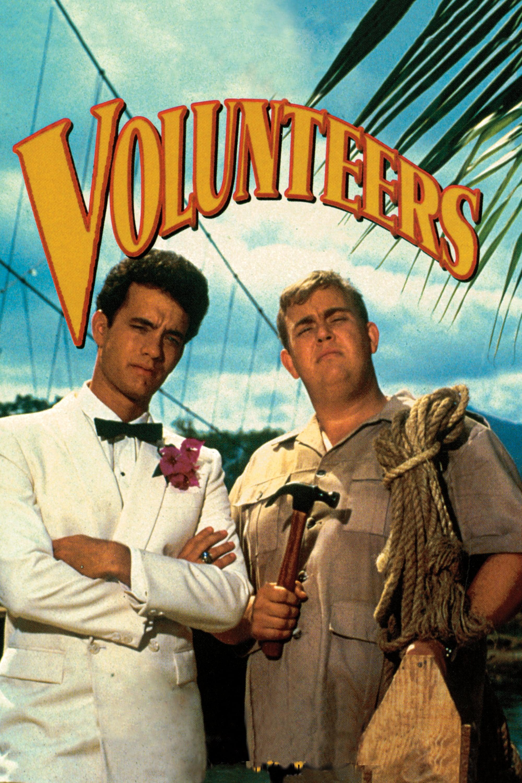 Volunteers (1985) Main Poster