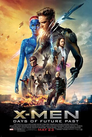 X-Men: Days of Future Past (2014) Main Poster
