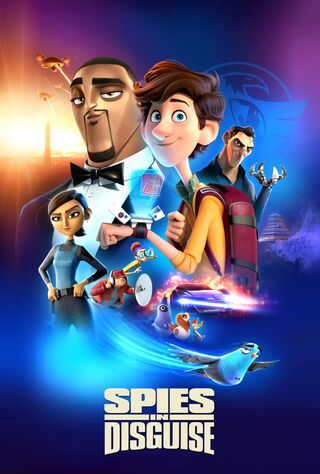 Spies In Disguise (2019) Main Poster