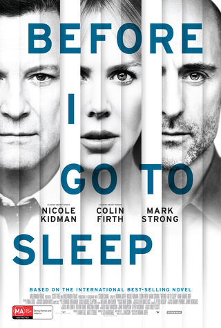 Before I Go To Sleep (2014) Main Poster