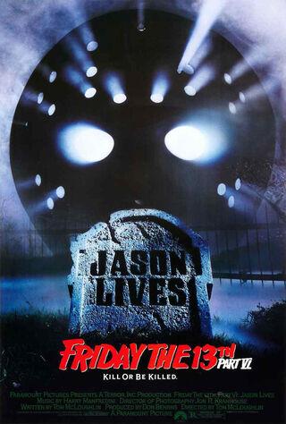 Friday The 13th Part VI: Jason Lives (1986) Main Poster