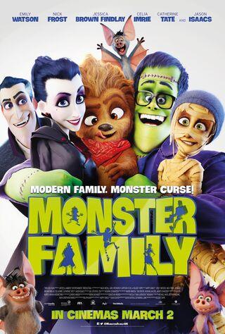 Monster Family (2018) Main Poster