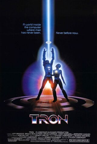 TRON (1982) Main Poster