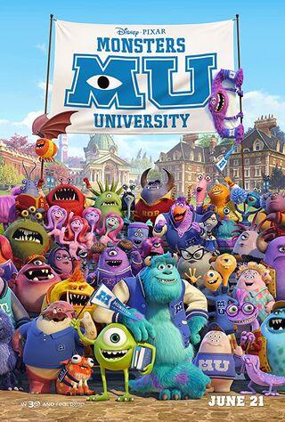 Monsters University (2013) Main Poster