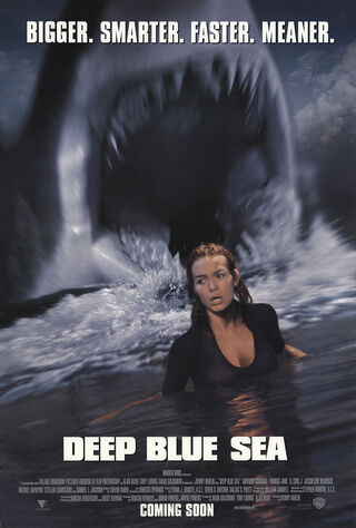 Deep Blue Sea (1999) Main Poster