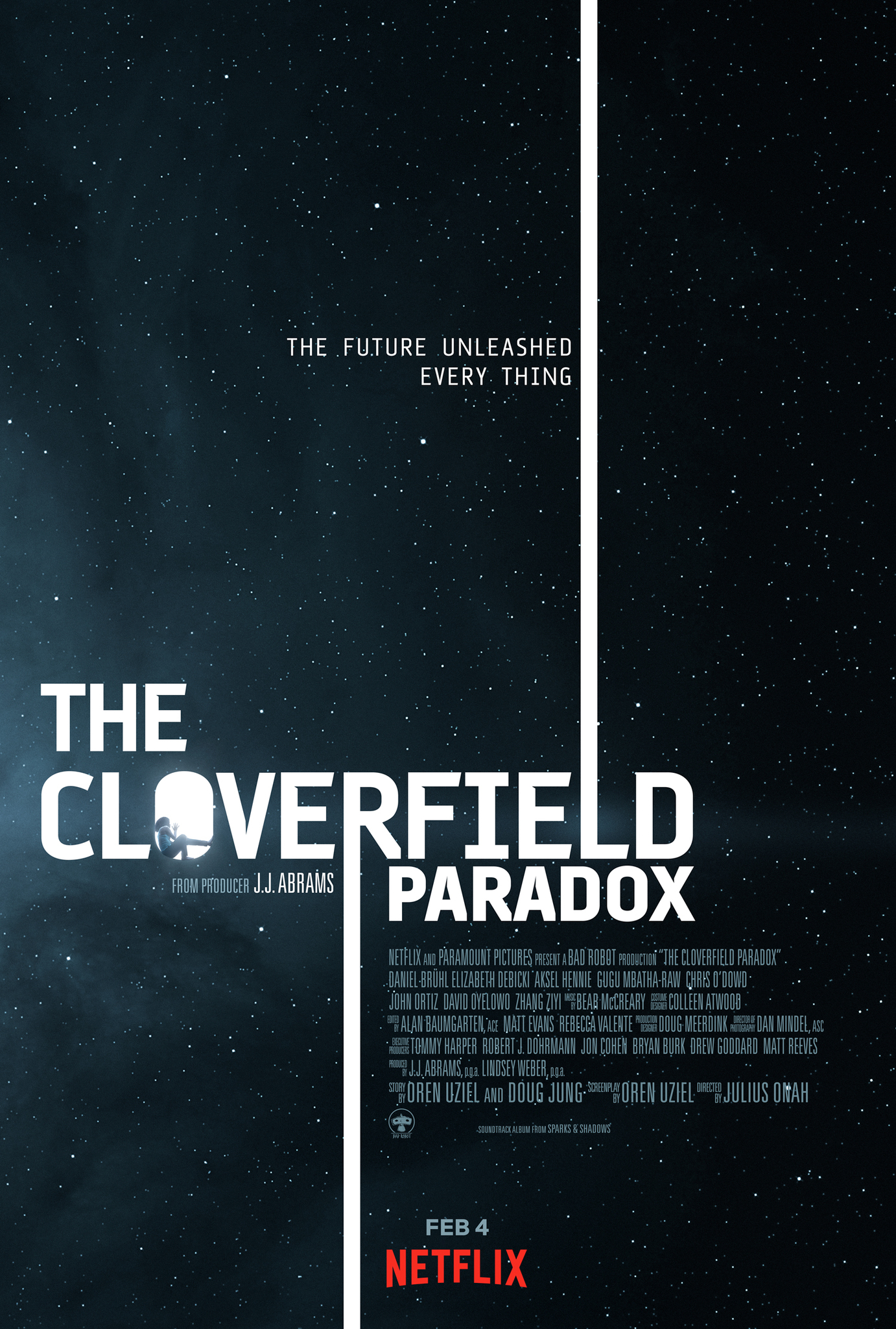 The Cloverfield Paradox (2018) Main Poster