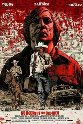 No Country For Old Men (2007) Main Poster