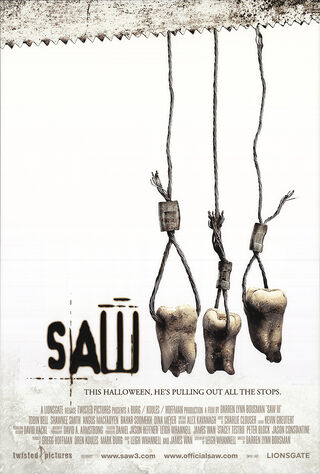 Saw III (2006) Main Poster