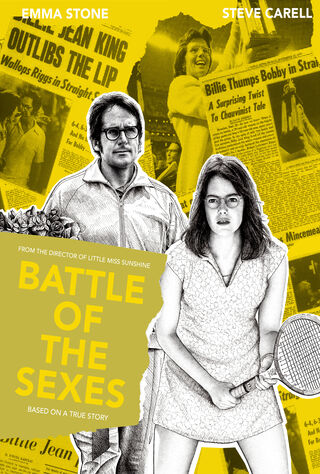 Battle Of The Sexes (2017) Main Poster