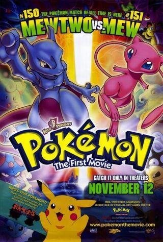 Pokémon: The First Movie - Mewtwo Strikes Back (1999) Main Poster