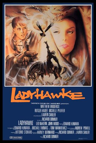 Ladyhawke (1985) Main Poster