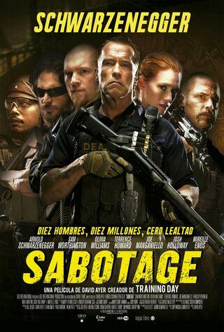 Sabotage (2014) Main Poster