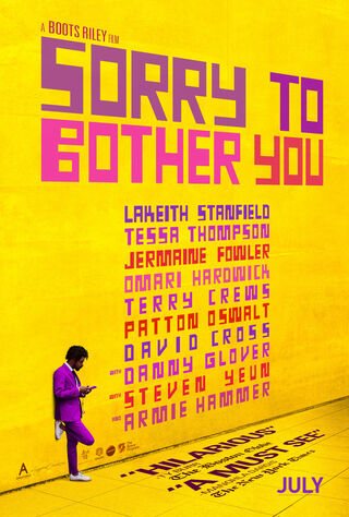 Sorry To Bother You (2018) Main Poster