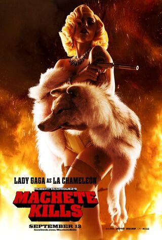Machete Kills (2013) Main Poster