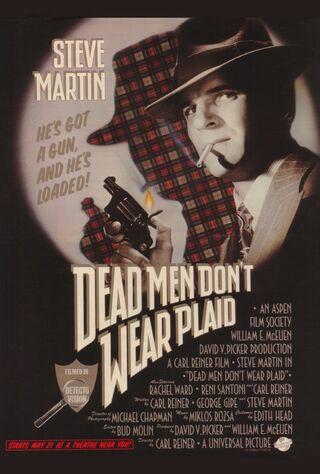 Dead Men Don't Wear Plaid (1982) Main Poster