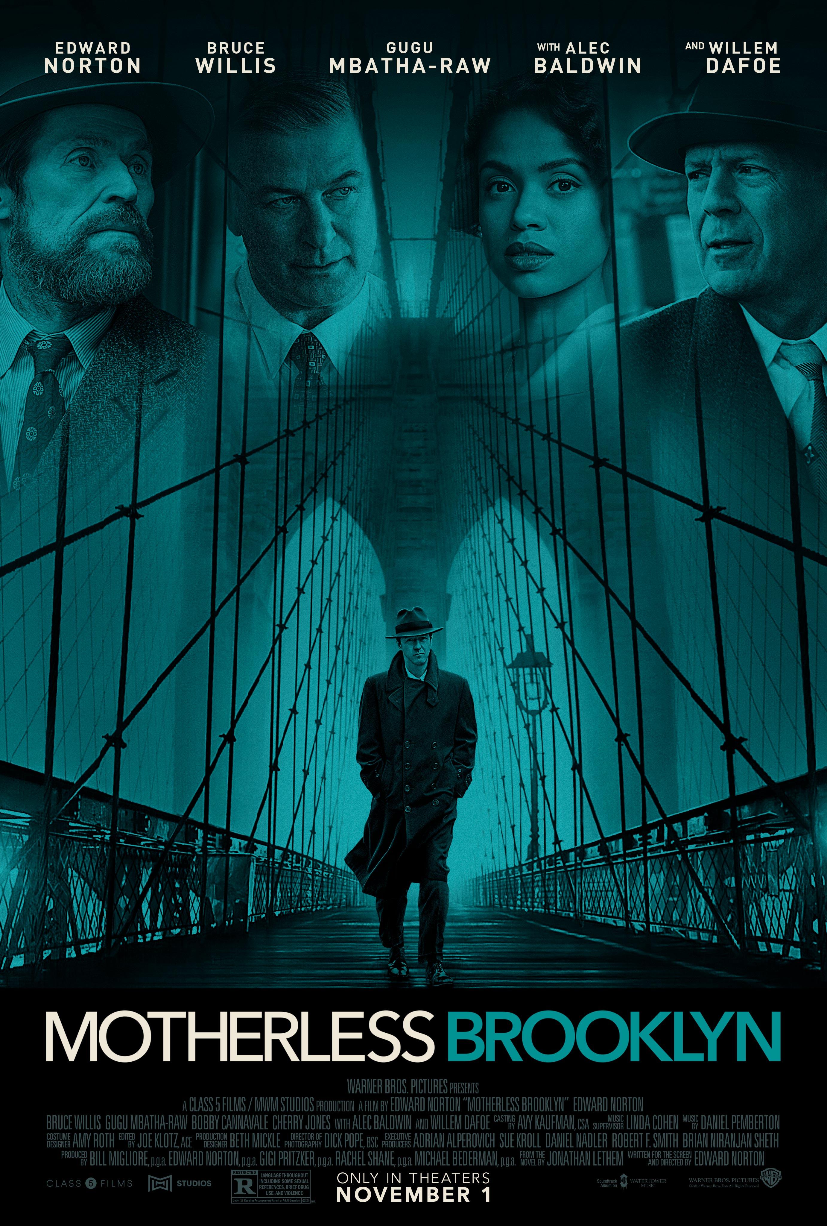 Motherless Brooklyn (2019) Main Poster