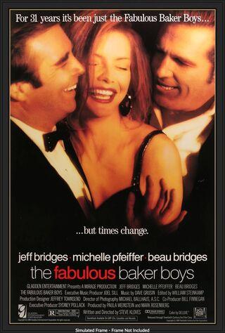 The Fabulous Baker Boys (1989) Main Poster