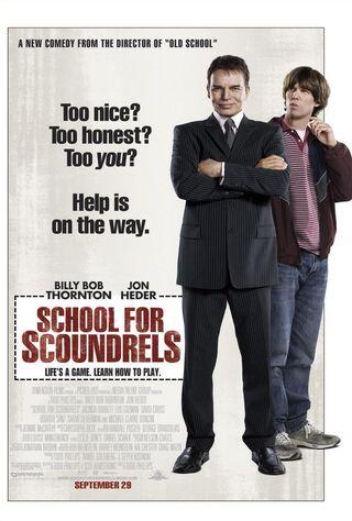 School For Scoundrels (2006) Main Poster