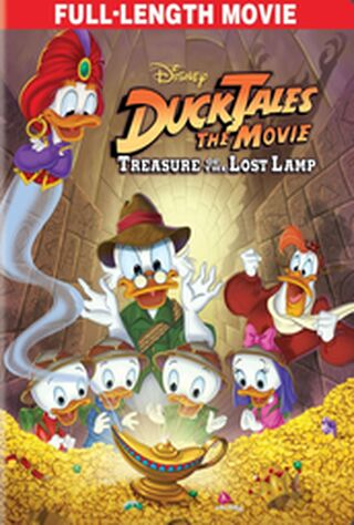 DuckTales The Movie: Treasure Of The Lost Lamp (1990) Main Poster