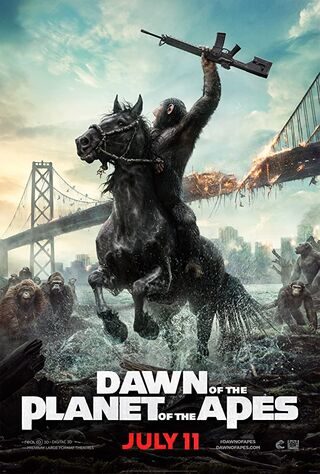 Dawn of the Planet of the Apes (2014) Main Poster