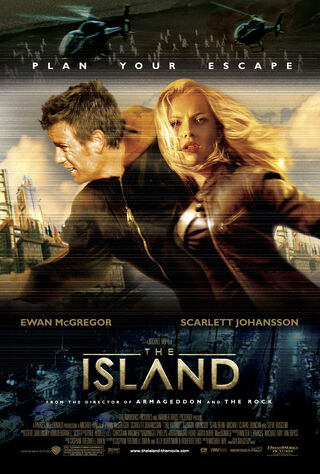 The Island (2005) Main Poster