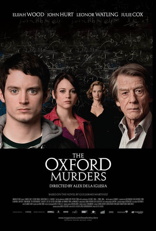 The Oxford Murders (2010) Main Poster