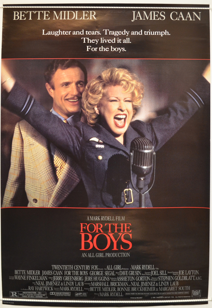 For The Boys (1991) Poster #10