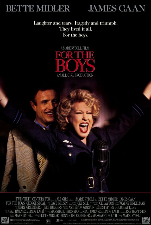 For The Boys (1991) Main Poster
