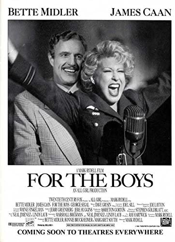 For The Boys (1991) Poster #8
