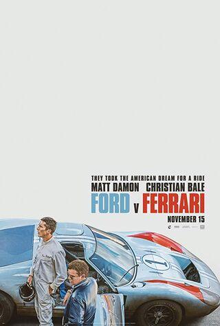 Ford vs Ferrari (2019) Main Poster