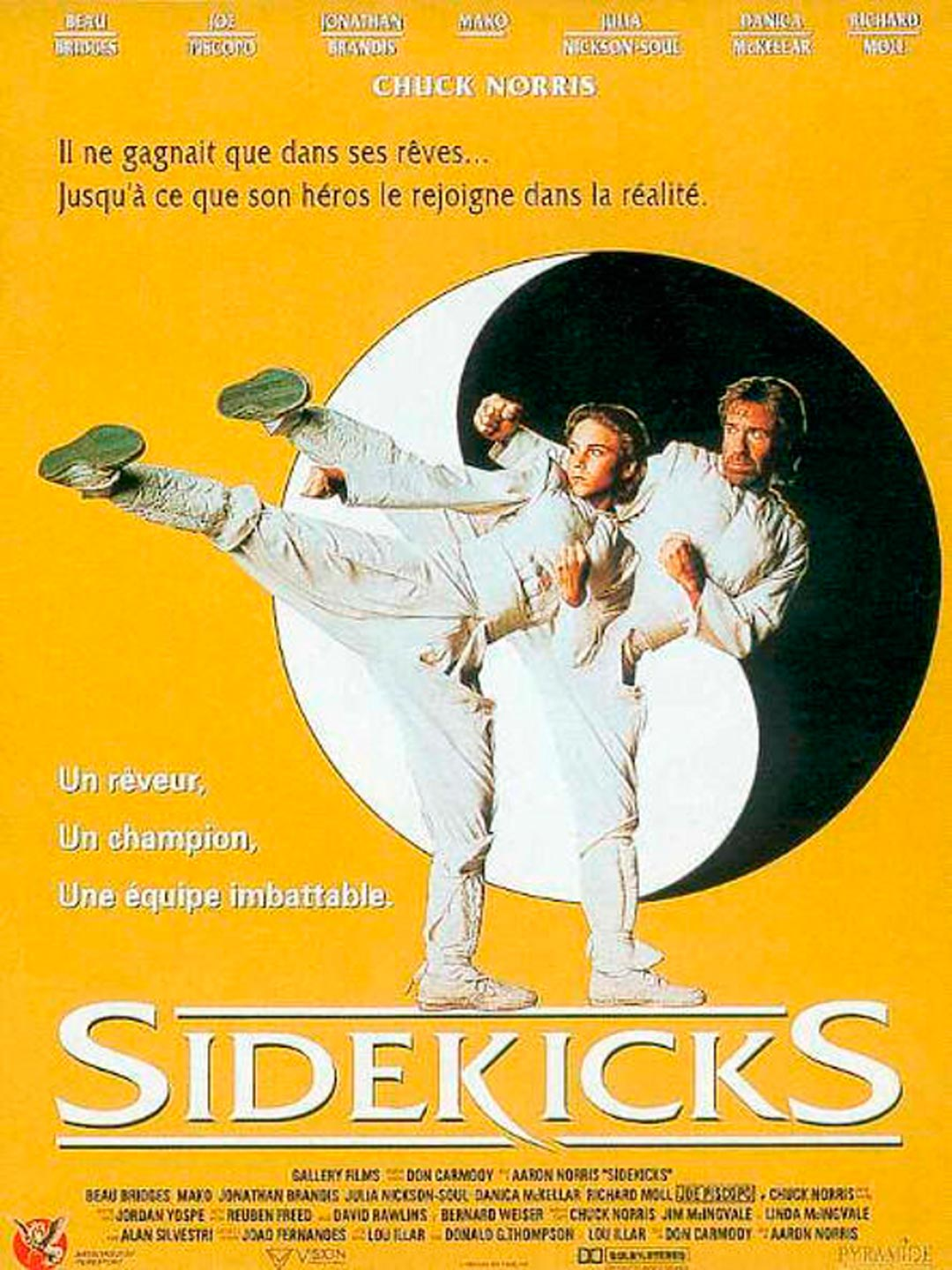 Sidekicks (1993) Main Poster