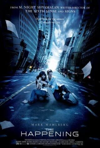 The Happening (2008) Main Poster