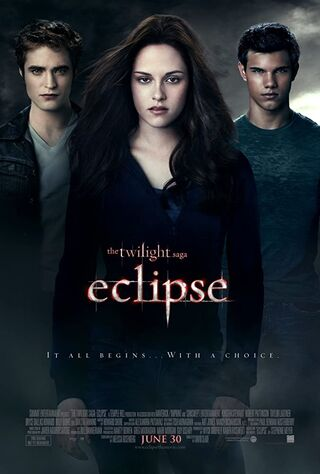The Twilight Saga: Eclipse (2010) Main Poster