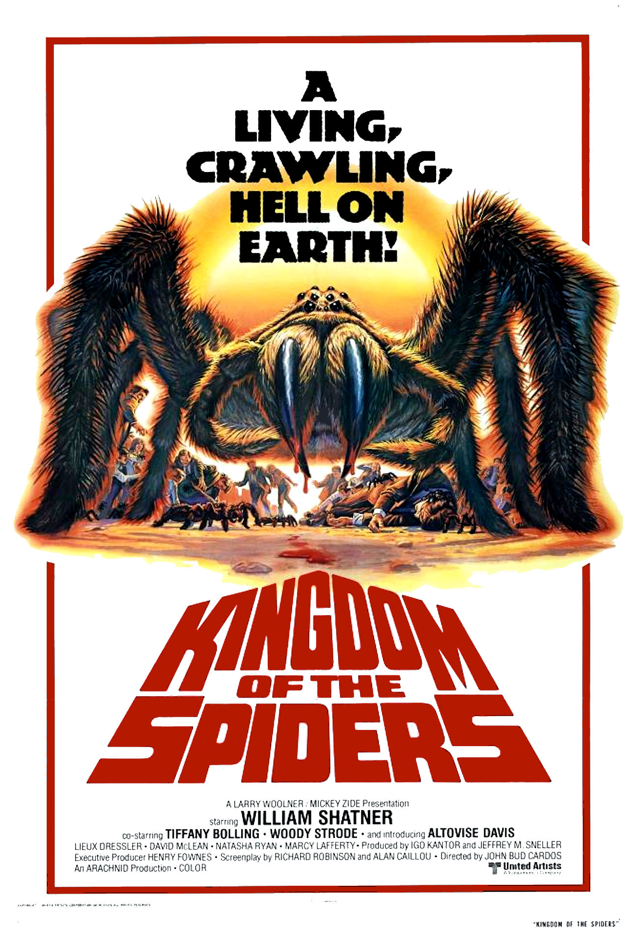 Kingdom Of The Spiders (1977) Poster #3