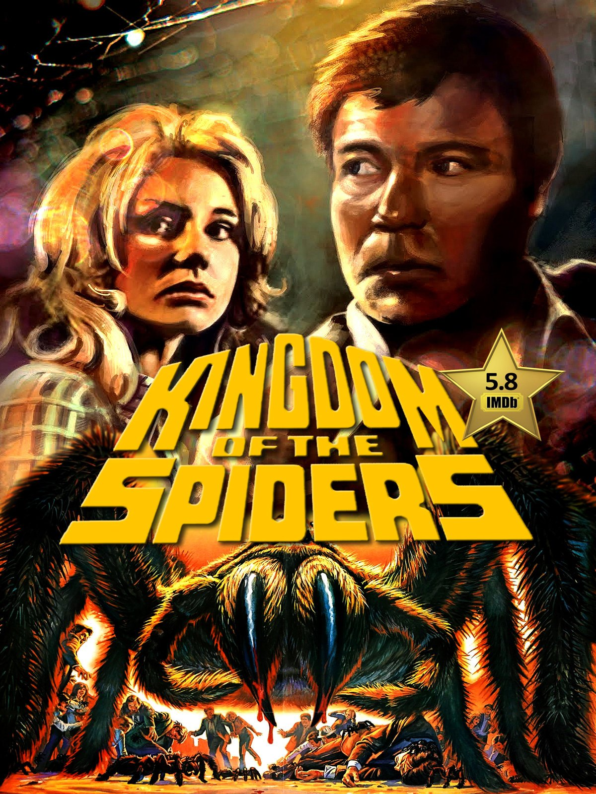 Kingdom Of The Spiders (1977) Poster #1