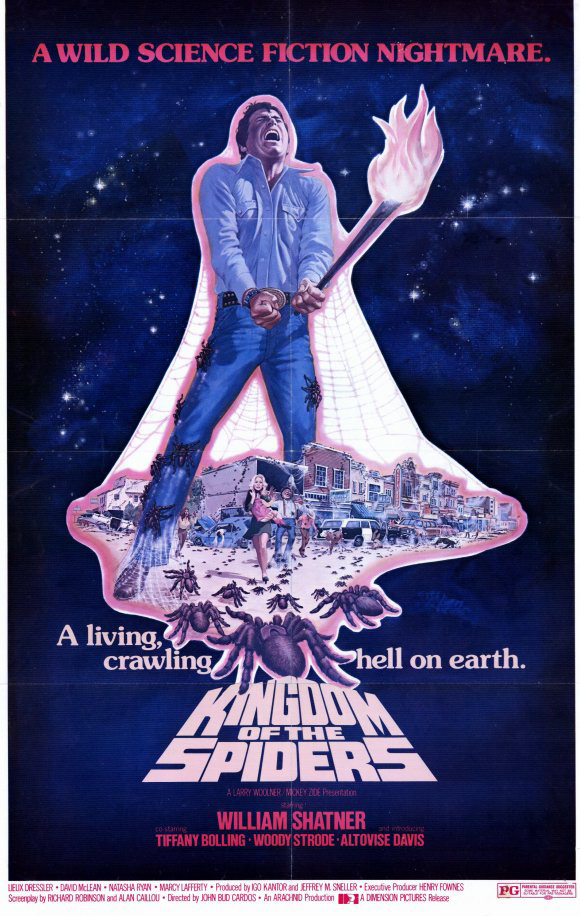 Kingdom Of The Spiders (1977) Poster #4